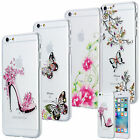 SLIM TPU CASE STRASS GLITTER COVER GEL SKIN TRANSPARENT CLEAR APPLE IPHONE