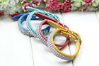 Rivet Style Leather PU Collars Dog Pet Cat Puppy Collar Neck Buckle Adjustable