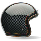 Bell Custom 500 Moto Motorcycle Classic Open Face Helmets | All Colours & Sizes