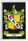 PERRY Family Coat of Arms Crest - Choice of Mount or Framed