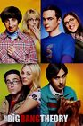 The Big Bang Theory Blocks TBBT Poster 61x91.5cm