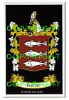 ROCHE Family Coat of Arms Crest - Choice of Mount or Framed