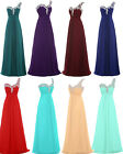 New Long Summer Bridesmaid Evening Formal Party Prom Women's Dress Size 6 -22