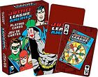 Justice League of America set of 52 playing cards (nm 52301)