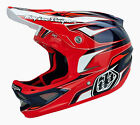 NEW 2015 TROY LEE DESIGNS D3 EVO COMPOSITE MTB BMX HELMET RED ALL SIZES