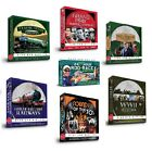 DVD Gift Box Set - Dad/Mens/Xmas - Trains/Railway/War/Grand Prix/Fishing/70s