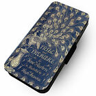 Pride & Prejudice - Faux Leather Flip Phone Cover Case - Book Style Design