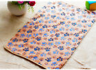 Pet Cat Mat Dog Puppy 3XColors Hamsters Pad Blanket Warm Bed Paw Pattern Cover
