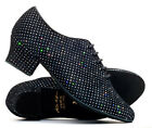 Ladies Sparkly Lace Up Practice Showtime Stage Ballroom Dance Shoes By Katz