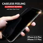 iPhone 7 / 7 Plus / 6s / 6 Case, AIRCRAFT-GRADE Aluminum Metal & TPU Bumper