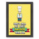 Americanflat Master Chef by Patricia Pino Framed Graphic Art