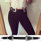 NEW Double Buckle Belt Western Style Kendall Waist and Hip Vintage Pattern