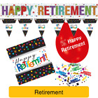 Officially RETIRED Party Range & Decorations (Retirement/Banner/Balloons)