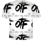 New Women/Mens OTF only the family letters 3D Print Casual Graphic T-Shirt G23