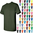 Gildan  BUDGET Mens Heavy Cotton Short Sleeve T-Shirt Cotton XL  5000 5 PACK
