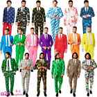 MENS ADULT ALL STYLES OPPOSUIT OPPO SUIT STAG FANCY DRESS PROM PRINT OUTFIT