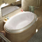 "Spa Escapes Martinique Dream Suite 60"" X 36"" Oval Air & Whirlpool Jetted Bathtub"
