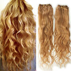"100g Brazilian Virgin Natural Wave Human Hair Extension 16""-20"" #27 Honey Blonde"