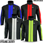 Mens Cycling 100% Waterproof Jacket Rainproof Breathable High Hi Visibility Coat