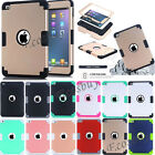 Shockproof Heavy Duty Hybrid Silicone Hard Soft Case Cover For iPad Mini 1 2 3 4