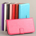 Stand Cards Wallet Hard Flip Leather Case Cover For Samsung Galaxy S5 SV i9600