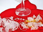 10 Gold / Silver White Flower Wine Glass Charms / Floral / Lily / Fleur / Blume