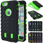 Tire PC Shockproof Hybrid High Impact Soft Rubber Hard Case For iPhone 6 6S Plus
