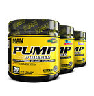 MAN Sports Pump Powder Fierce Pre-Workout (30 Servings) Multiple Flavors