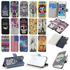 Landir / New For iPhone 5G 5S Magnetic Flip Leather Wallet Stand Hard Case Cover
