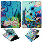 """TABLET STAND FOR 8 INCH 8"""" WITH ROTATING FOLIO PU LEATHER CASE COVER"""