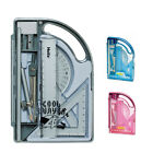 Helix Cool Curves Maths Set- Colours - Idea For School, Office, Home