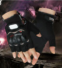 Fingerless Gloves Motorcycle Motocross Sports MTB Cycling Bike Bicycle Gloves