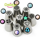Stainless Steel Icing Piping Nozzles Pastry Cake Decorating Tip Set Baking Tool