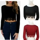 New Summer Women Lace Sexy Midriff-baring Crop Top T-shirt Blouse Tank Tops Wrap
