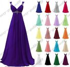 New Chiffon Woman's Prom gown Evening Bridesmaid Formal Party Dress Size 6 -20