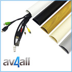 D-Line TV Cable Cover Wire Hiding Trunking dline All Sizes  All colours 1 metre