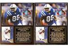 Marvin Harrison #88 Pro Football Hall of Fame Photo Card Plaque Colts $27.95 USD on eBay