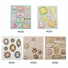 Vintage 3D Adhesive Stickers Tag Label DIY Scrapbooking Diary Decorative Craft