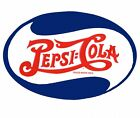New Iconic Oval Logo Pepsi Cola Metal Tin Sign