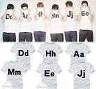 SHINHWA kpop t-shirt white tee unisex New