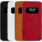 For LG G5 H840/H850 Nillkin Retro PU Leather Flip Case Smart Cover View Window