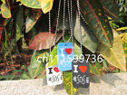 5 Seconds of Summer I Love 5SOS Silicone Dog Tag Pendant Necklace