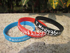 Medical Alert! Penicillin Allergy Silicone Debossed Wristband Bracelet
