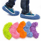 1pair Mop Slippers Dusting Cleaning Foot Socks Shoe Lazy Quick Floor House Clean