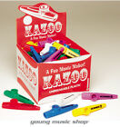 HOHNER KC50 KAZOOS BOX OF 50 MULTICOLOR PACK ! KAZOO