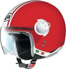 Nolan N20 City Open Face Helmet Metal Corsa Red/White