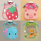 KidsToddler Waterproof Cartoon Lunch Bibs Infant Baby Animal Saliva Towel Bib