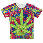 new summer Women men's fashion maple leaf top 3D Printed short sleeve T-Shirt