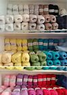 Wendy Supreme Luxury 100% Cotton Yarn 100 Gram Ball- Choose From 21 Colours