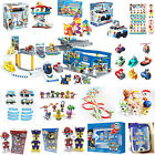 Hot PAW PATROL RESCUE Racers Pups Dog Backpack Car Toys Ryder Kids Gift With Box